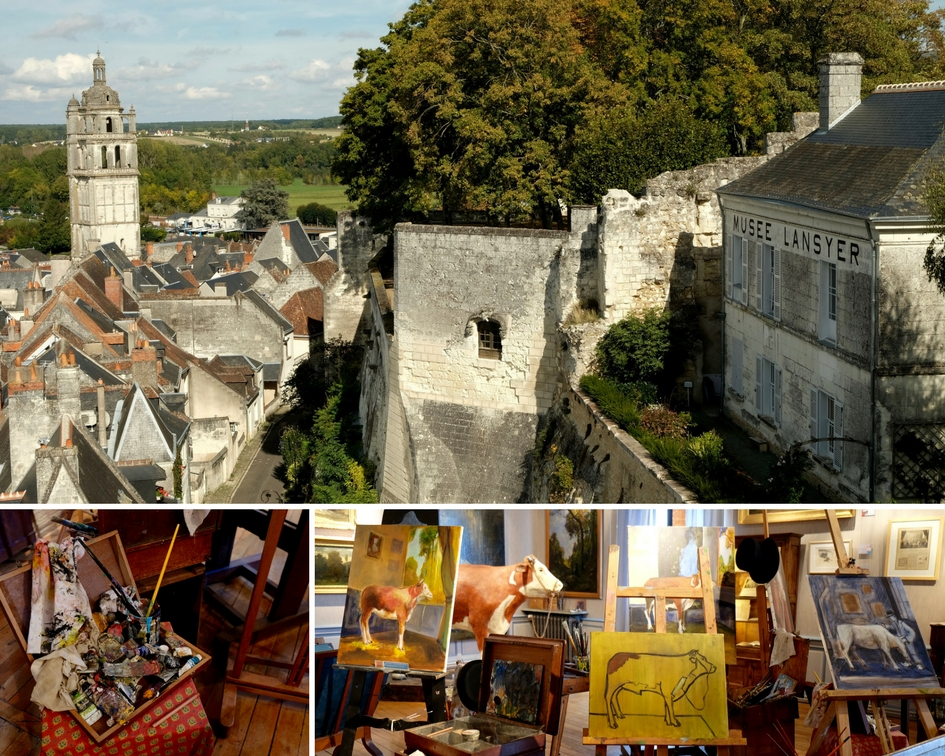 Musee Lansyer- Vue- Loches